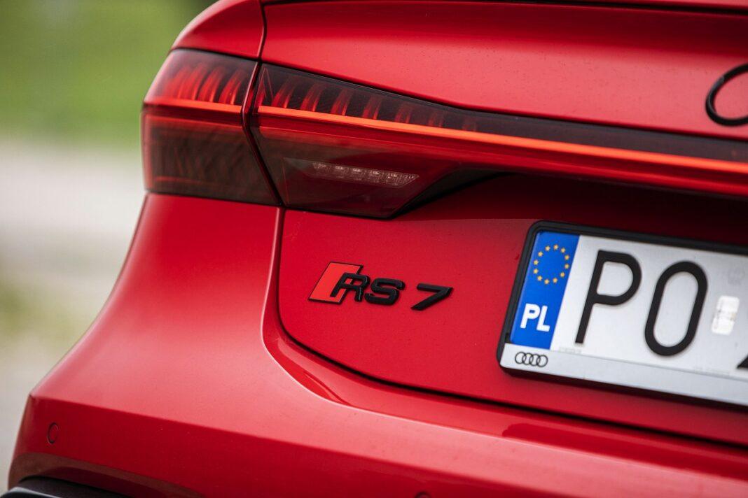 Audi RS 7 Sportback (2020) test logo