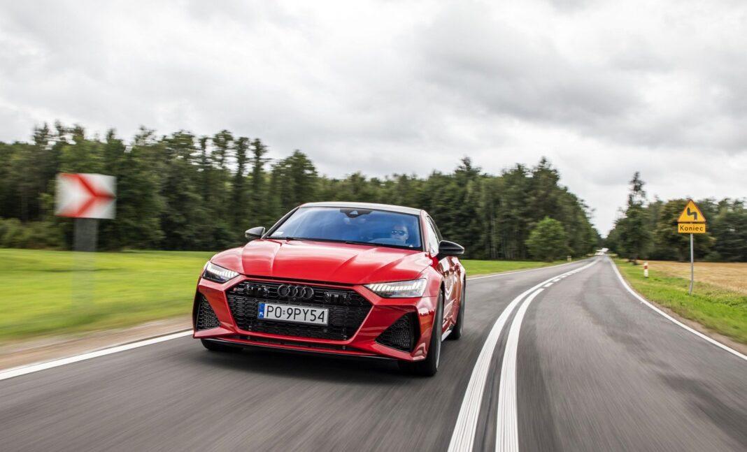 Audi RS 7 Sportback (2020) test przód 00