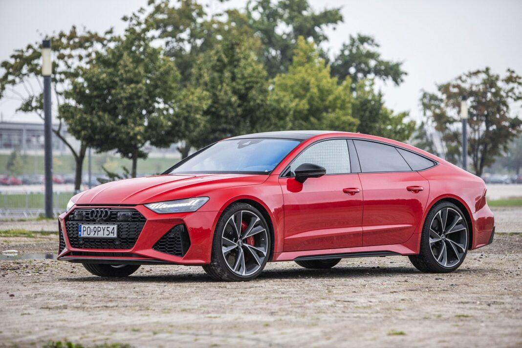 Audi RS 7 Sportback (2020) test przód 02
