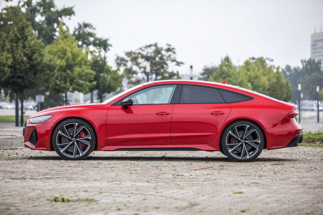 Audi RS 7 Sportback (2020) test przód 03