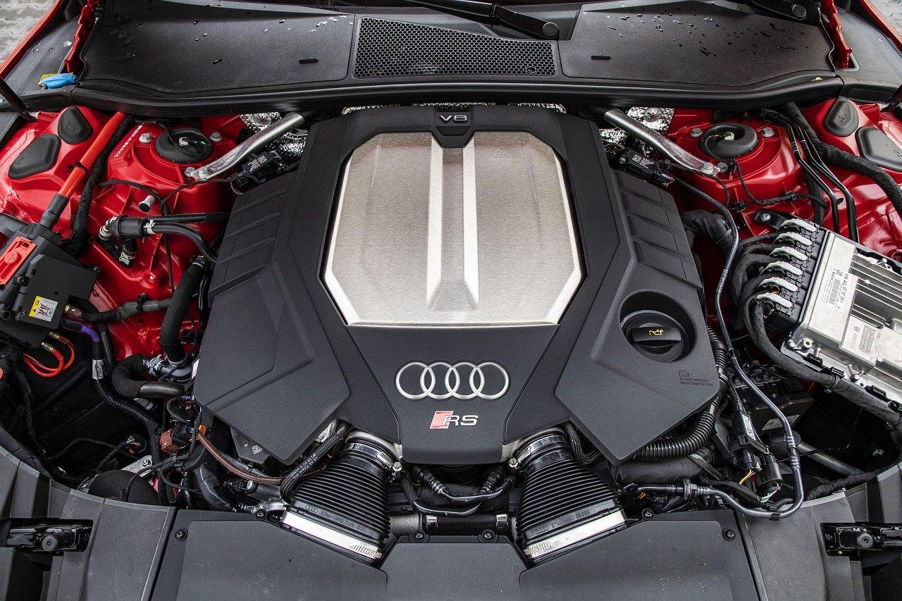 Audi RS 7 Sportback (2020) test silnik