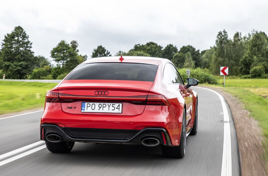 Audi RS 7 Sportback (2020) test tył 00