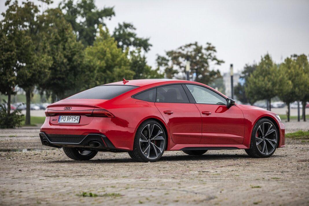 Audi RS 7 Sportback (2020) test tył 02
