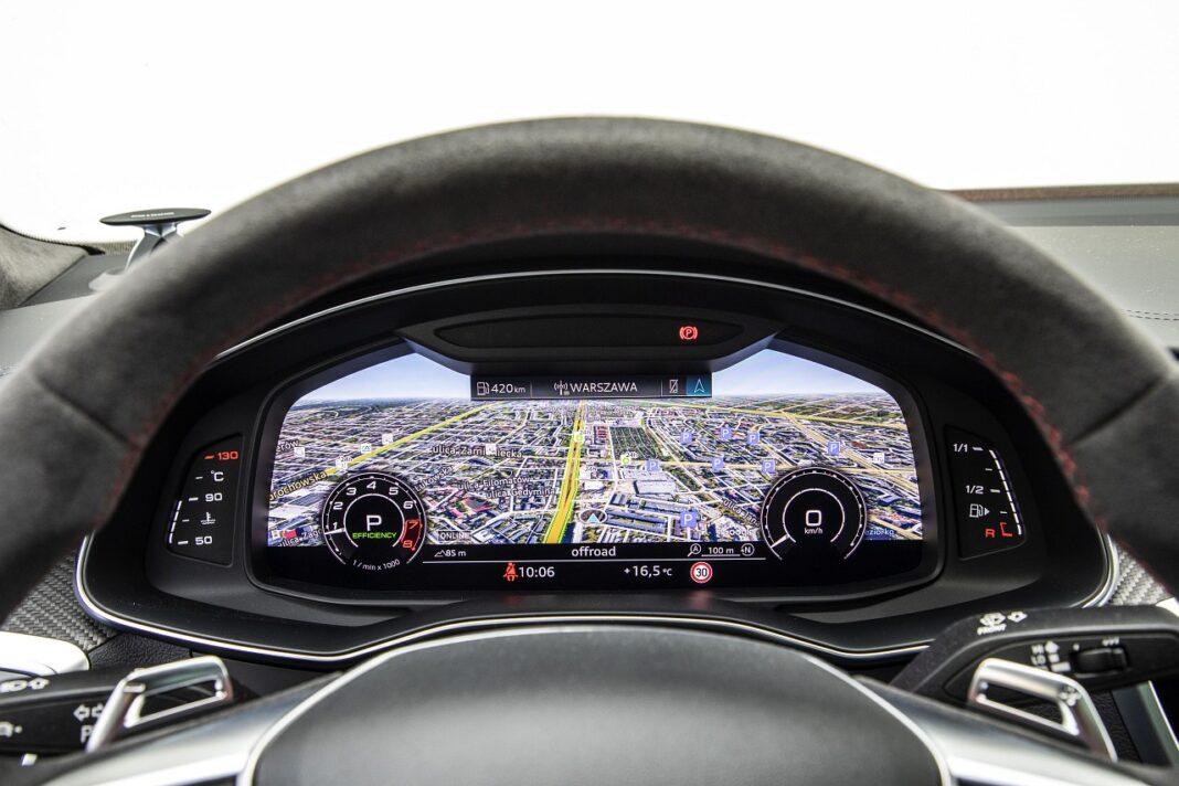 Audi RS 7 Sportback (2020) test zegary 02
