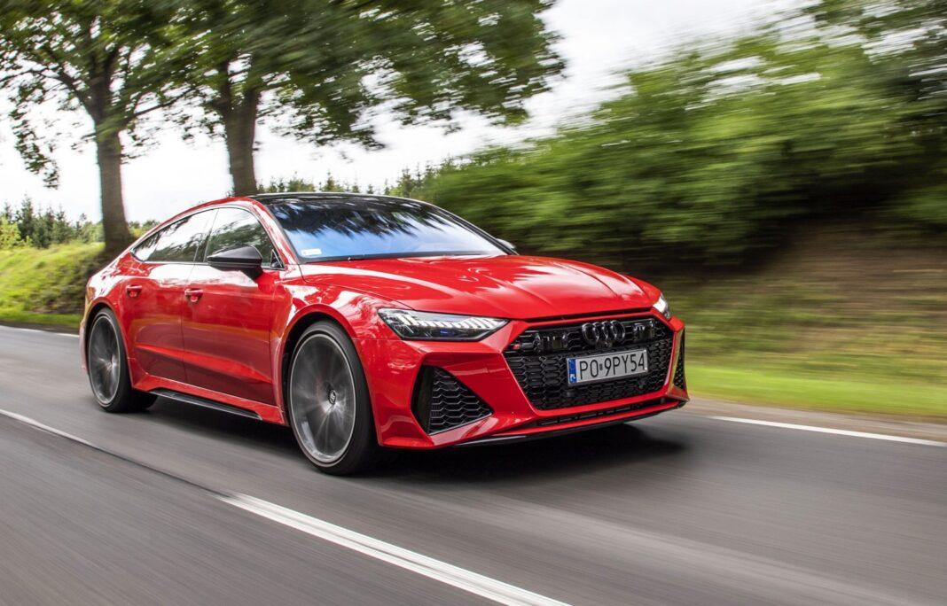 Audi RS 7 Sportback test 2020 przód 01