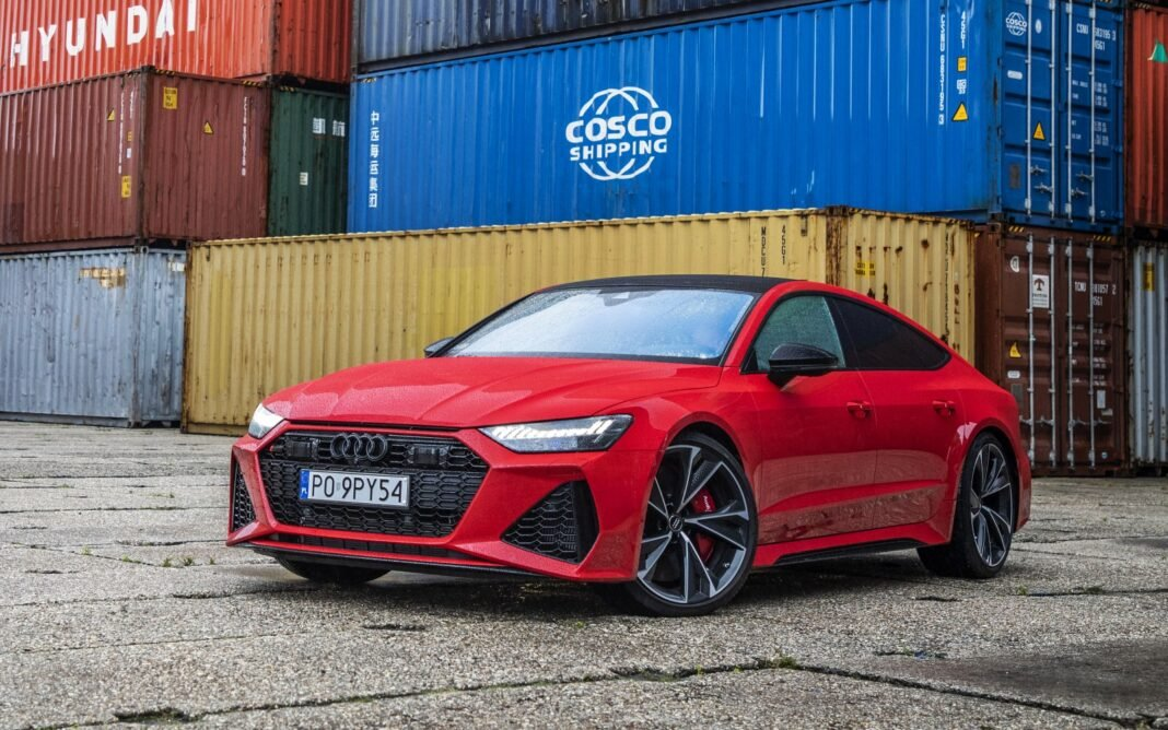 Audi RS 7 Sportback test 2020 przód 02