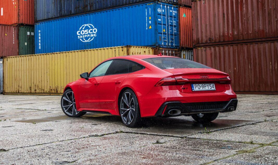Audi RS 7 Sportback test 2020 tył 02