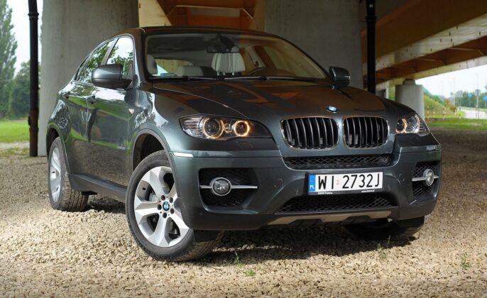 BMW X6 E71 xDrive35i 3.0T R6 306KM 6AT WI2732J 09-2008