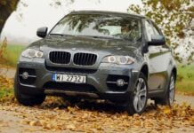 BMW X6 E71 xDrive35i 3.0T R6 306KM 6AT WI2732J 10-2008