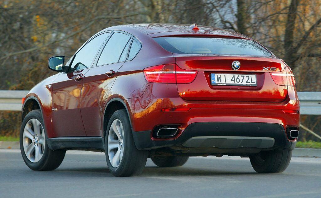 BMW X6 E71 xDrive50i 4.4T V8 408KM 6AT WI4672L 11-2009