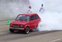 Fiat 126p z silnikiem V8