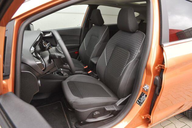 Ford Fiesta 1.0 EcoBoost - fotele przód
