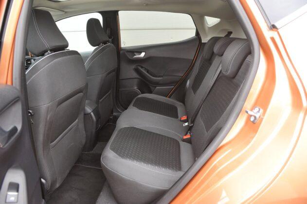 Ford Fiesta 1.0 EcoBoost - fotele tył
