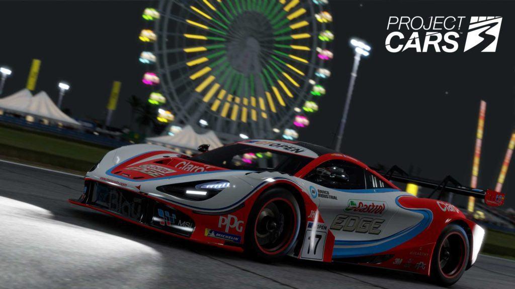 Project Cars 3 - wyścig w nocy