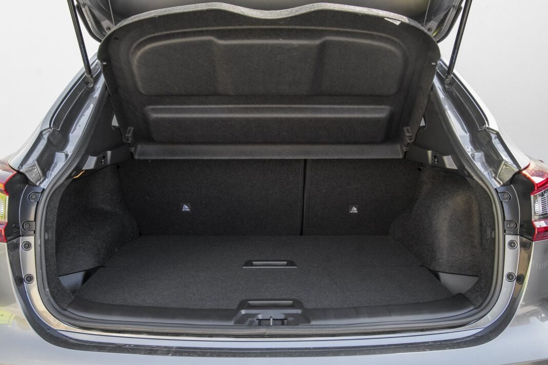 Nissan Qashqai 1.5 dCi DCT (2020) test - bagażnik