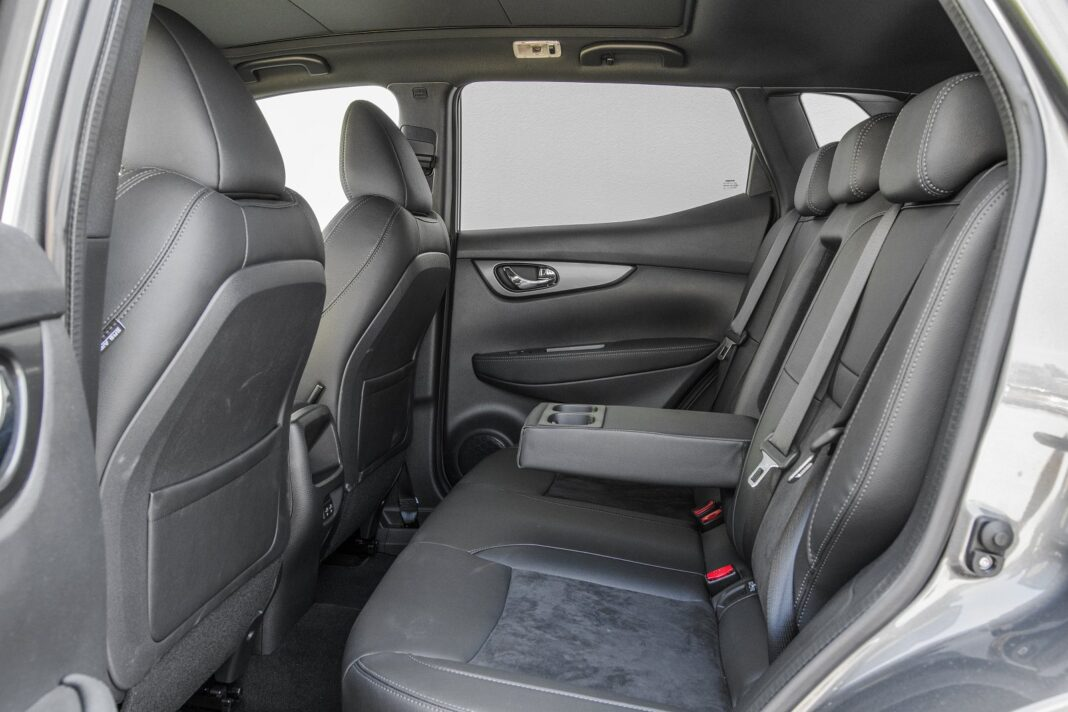Nissan Qashqai 1.5 dCi DCT (2020) test - tylne fotele (kanapa)