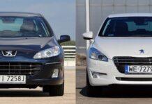 Peugeot 407 i 508
