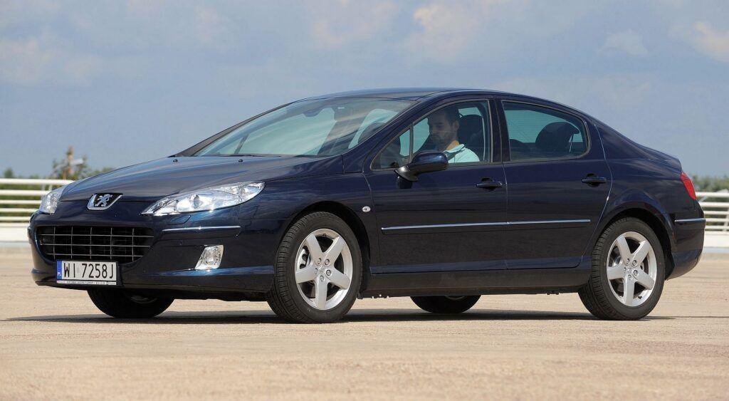 Peugeot 407 i Peugeot 508 07