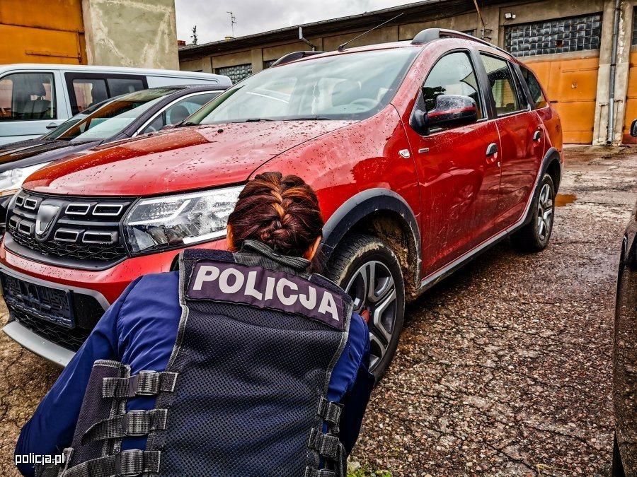 Skradziona Dacia