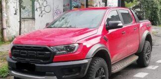Skradziony Ford Raptor