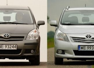Używana Toyota Corolla Verso II i Toyota Verso - którą wybrać?