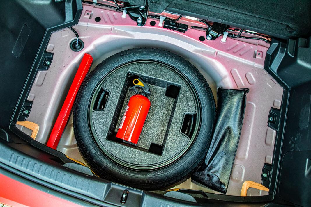 Toyota Yaris 1.5 Hybrid - koło zapasowe