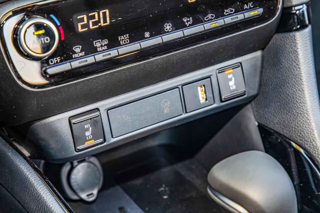 Toyota Yaris 1.5 Hybrid - ogrzewanie foteli