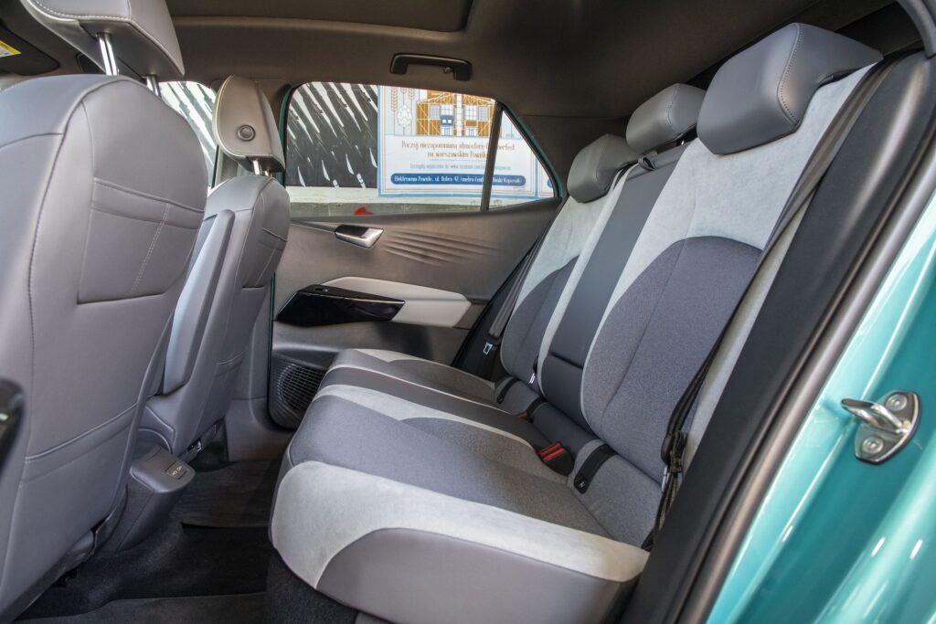 Volkswagen ID.3 - ilosc miejsca z tyłu