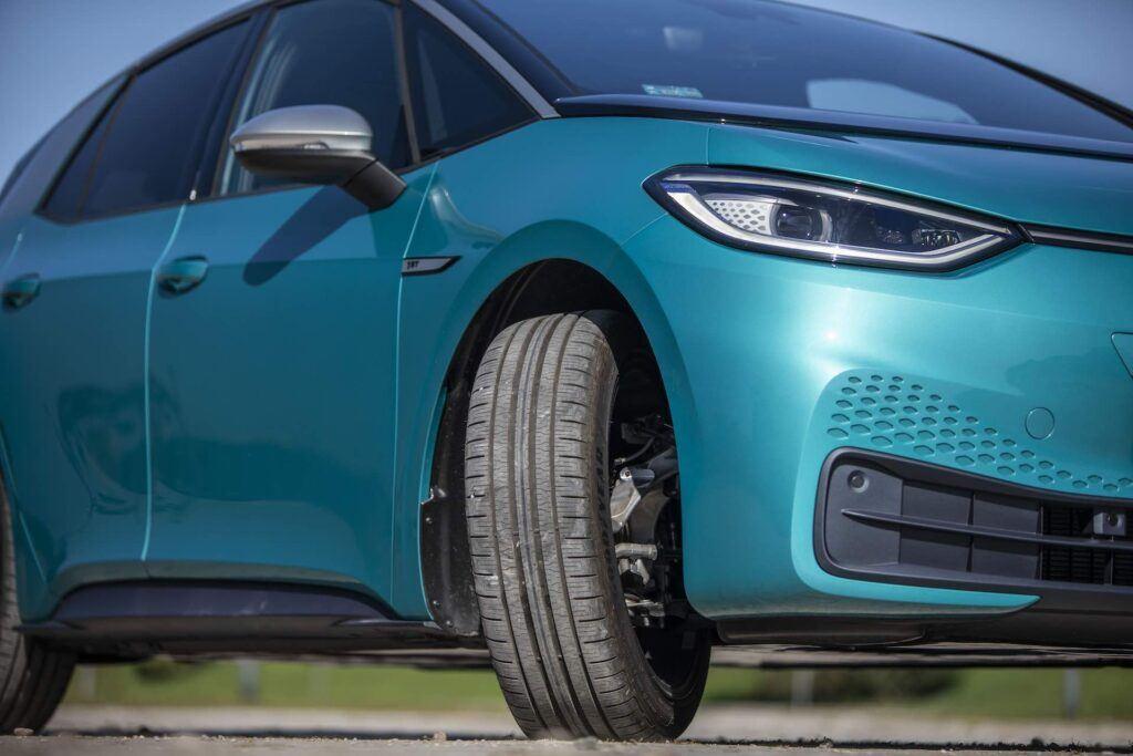 Volkswagen ID.3 - srednica zawracania