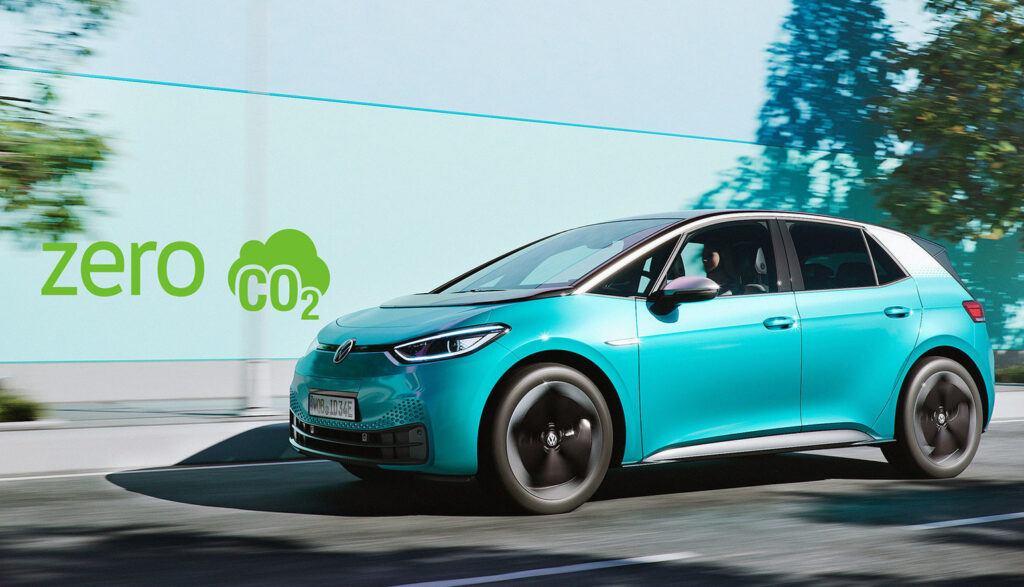 Volkswagen ID.3 Zero emisji CO2