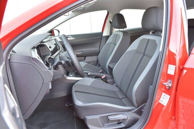 Volkswagen Polo 1.0 TSI (115 KM) DSG - przednie fotele