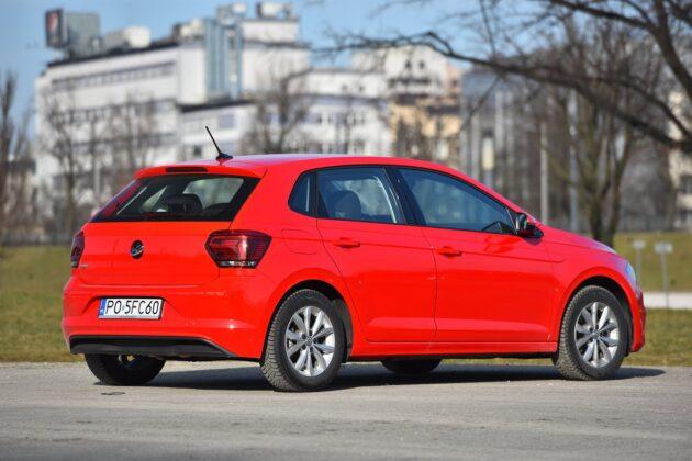 Volkswagen Polo 1.0 TSI (115 KM) DSG - tył