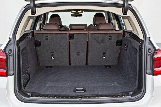 BMW iX3 - bagażnik