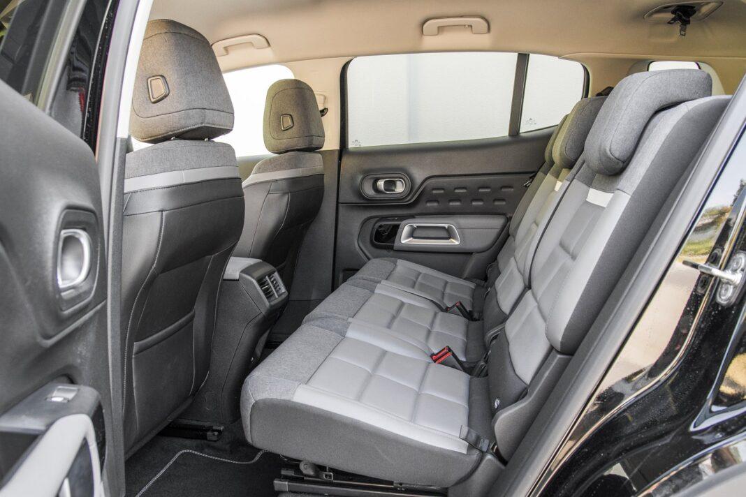 Citroen C5 Aircross 1.5 BlueHDi EAT8 (2020) - tylne fotele (kanapa)