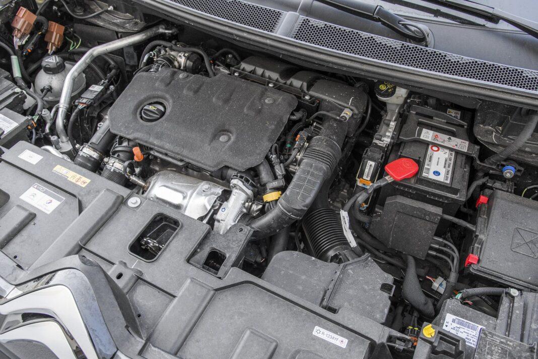 Citroen C5 Aircross 1.5 BlueHDi EAT8 (2020) - silnik