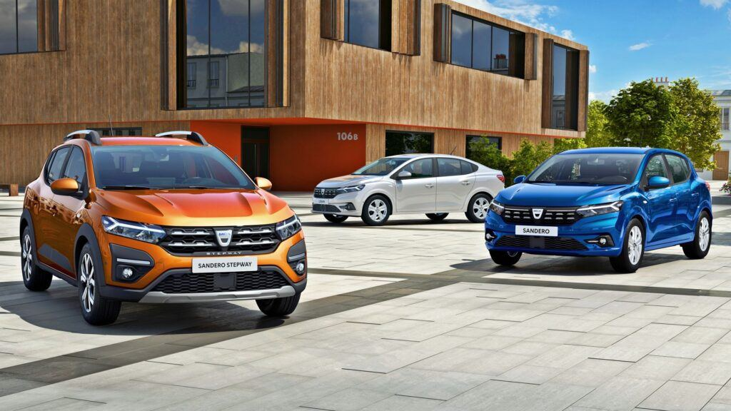 Dacia Sandero (2021) i Logan (2021)