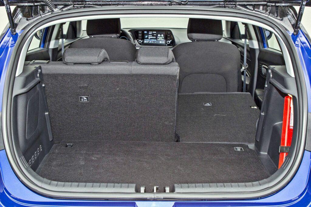 Hyundai i20 - bagażnik