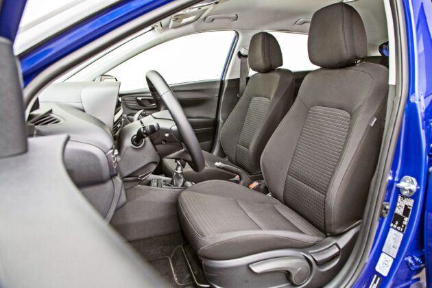 Hyundai i20 - fotele przednie