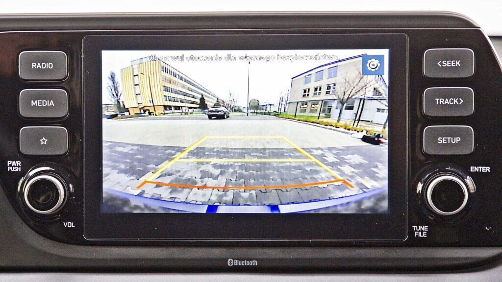 Hyundai i20 - kamera cofania