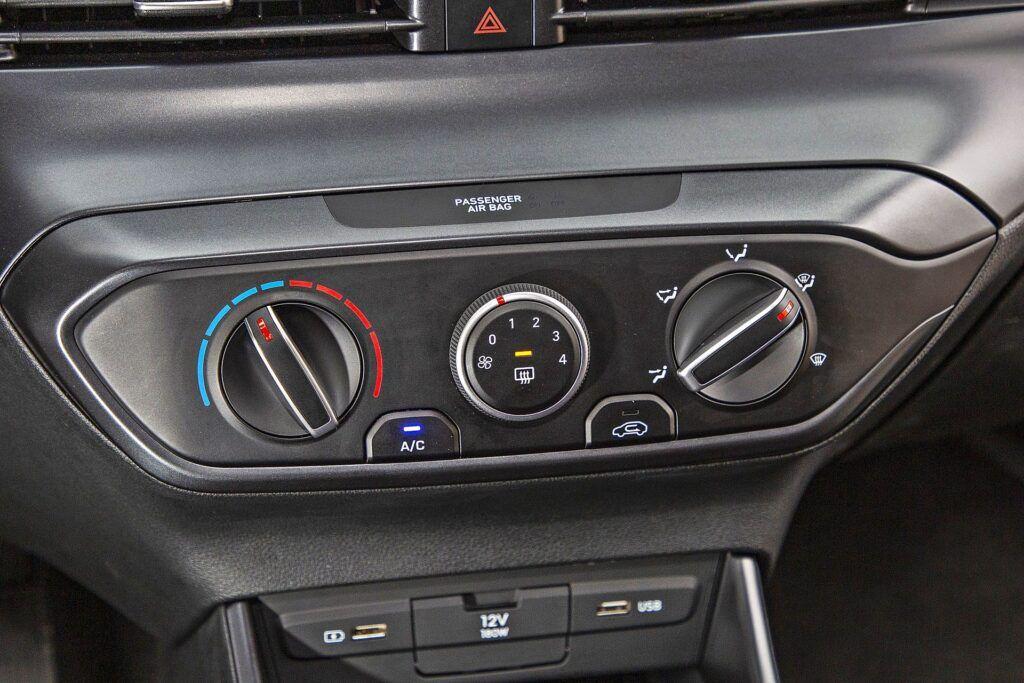 Hyundai i20 - klimatyzacja