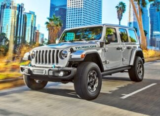 Nowy Jeep Wrangler 4xe – terenowa hybryda plug-in