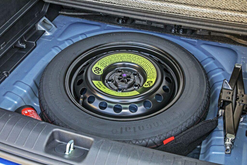 Kia Sportage - zapasowe koło dojazdowe