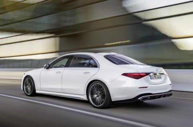 Nowy Mercedes klasy S (W223/V223) 2021