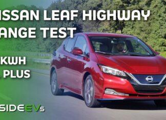 Nissan Leaf – test zużycia prądu w trasie