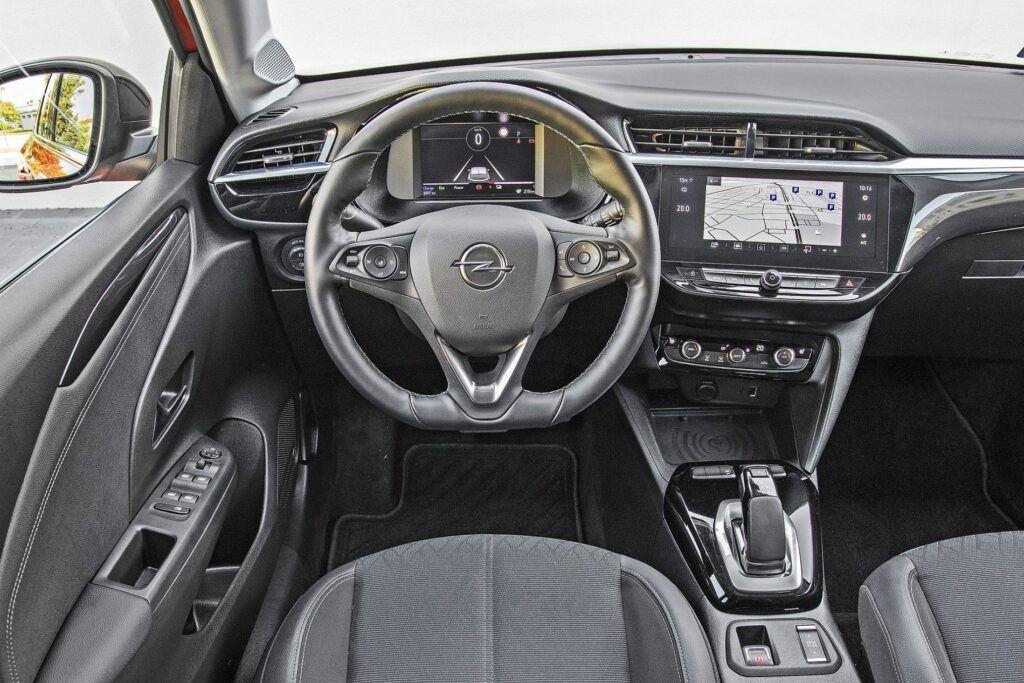 Opel Corsa-e - deska rozdzielcza