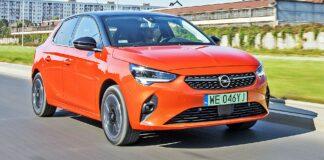 Opel Corsa-e - przód