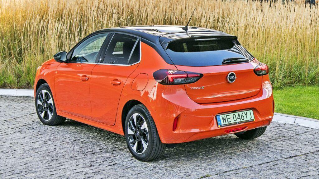Opel Corsa-e - tył