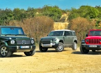 Land Rover Defender kontra Jeep Wrangler i Mercedes klasy G – porównanie
