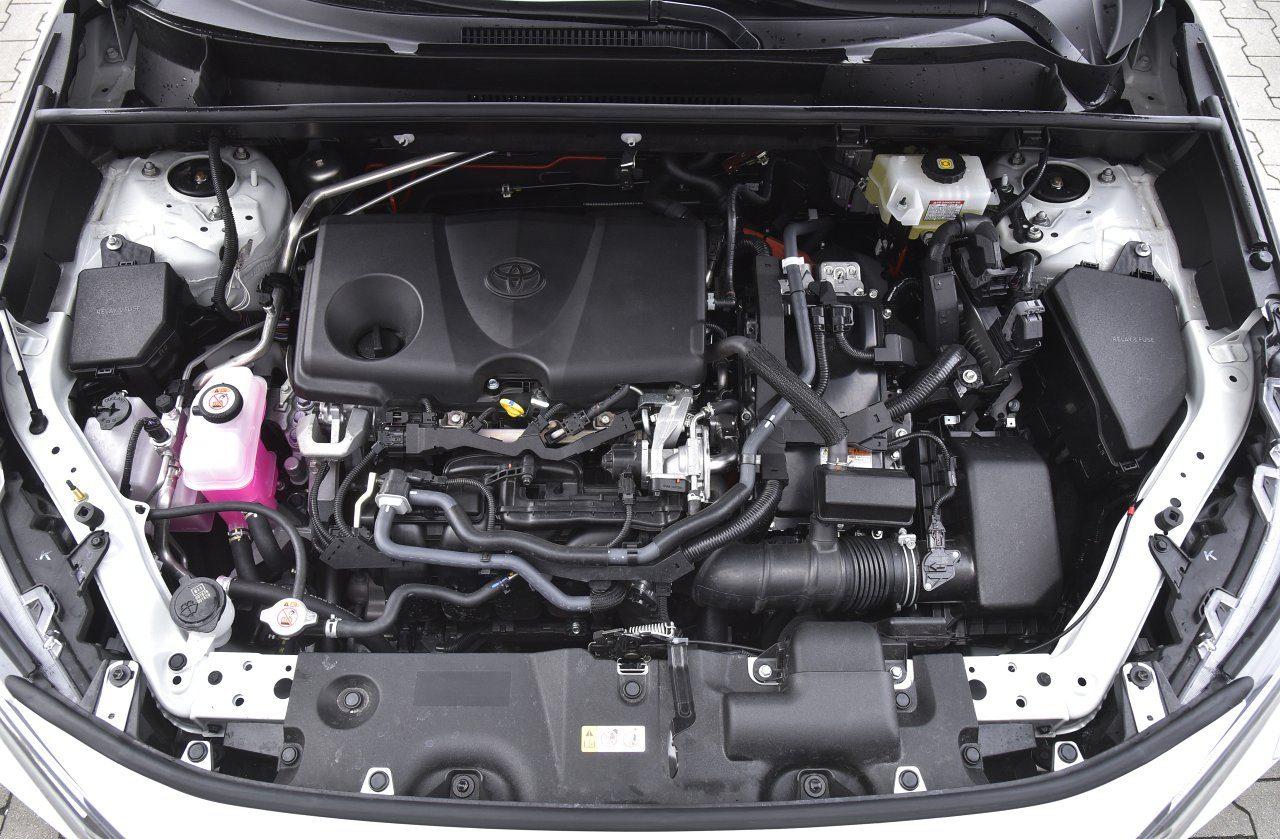 toyota rav4 2.5 hybrid 2020 silnik