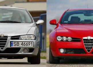 Używana Alfa Romeo 156 i Alfa Romeo 159 - którą wybrać?